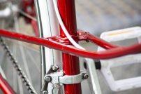 Recikli- Meggypiros női kerékpár