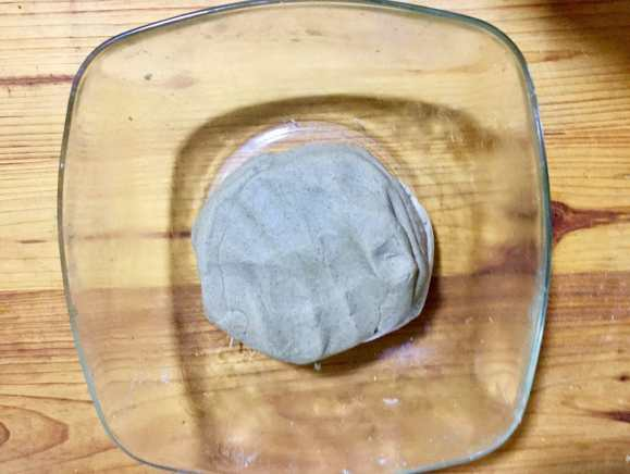 Make bajra flour dough.