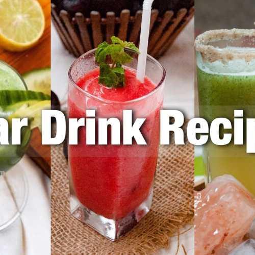 refreshing drinks for summer