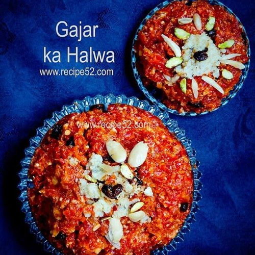 garjar halwa recipe with khoya.