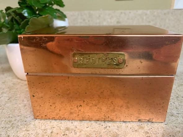 Anna B's recipe box