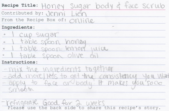 Honey Sugar Body and Face Scrub