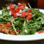 Chicken Parmesan Salad, Photo by Susan Lucas Hoffman, Flickr commons