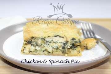 Chicken & Spinach Pie