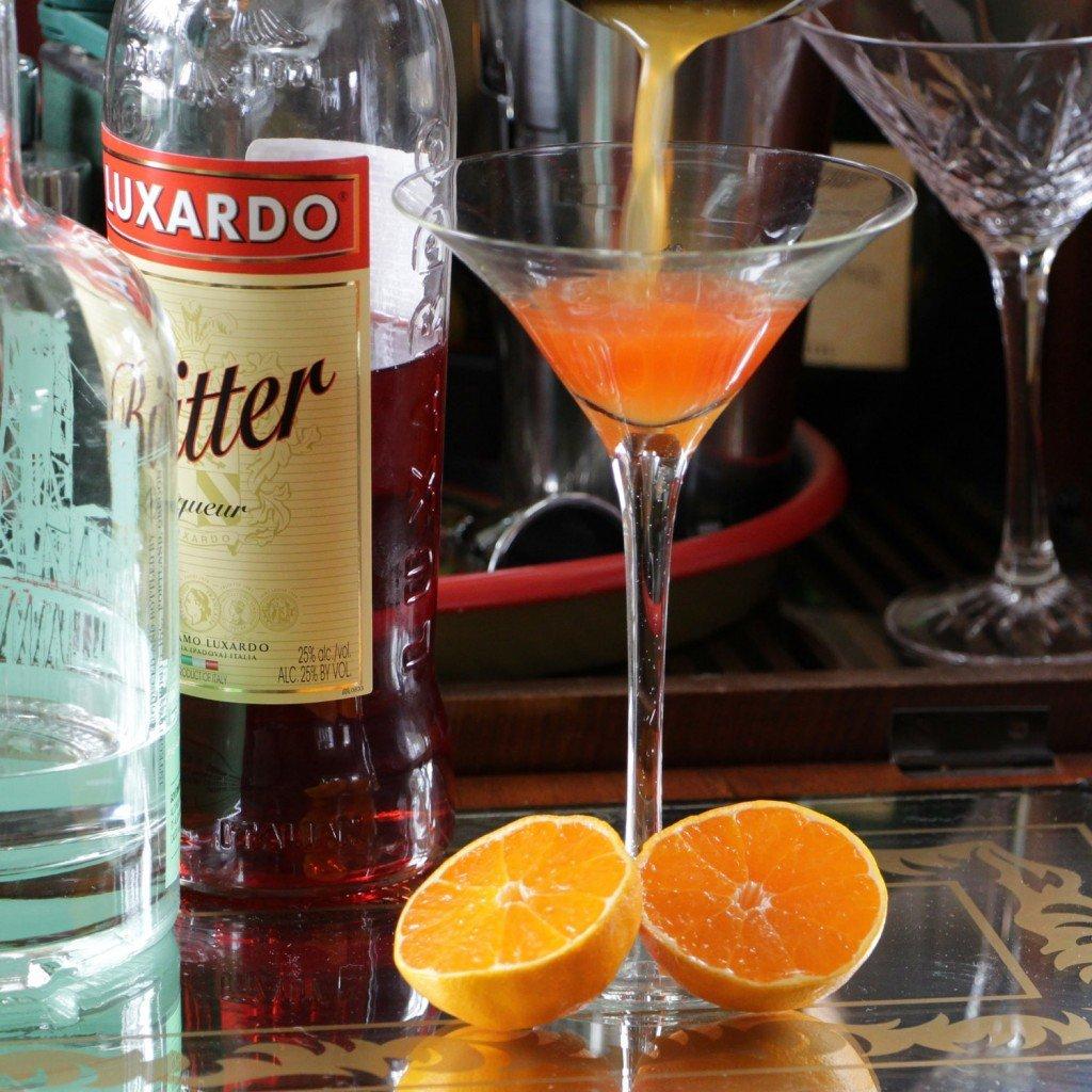 satsuma bitter cocktail