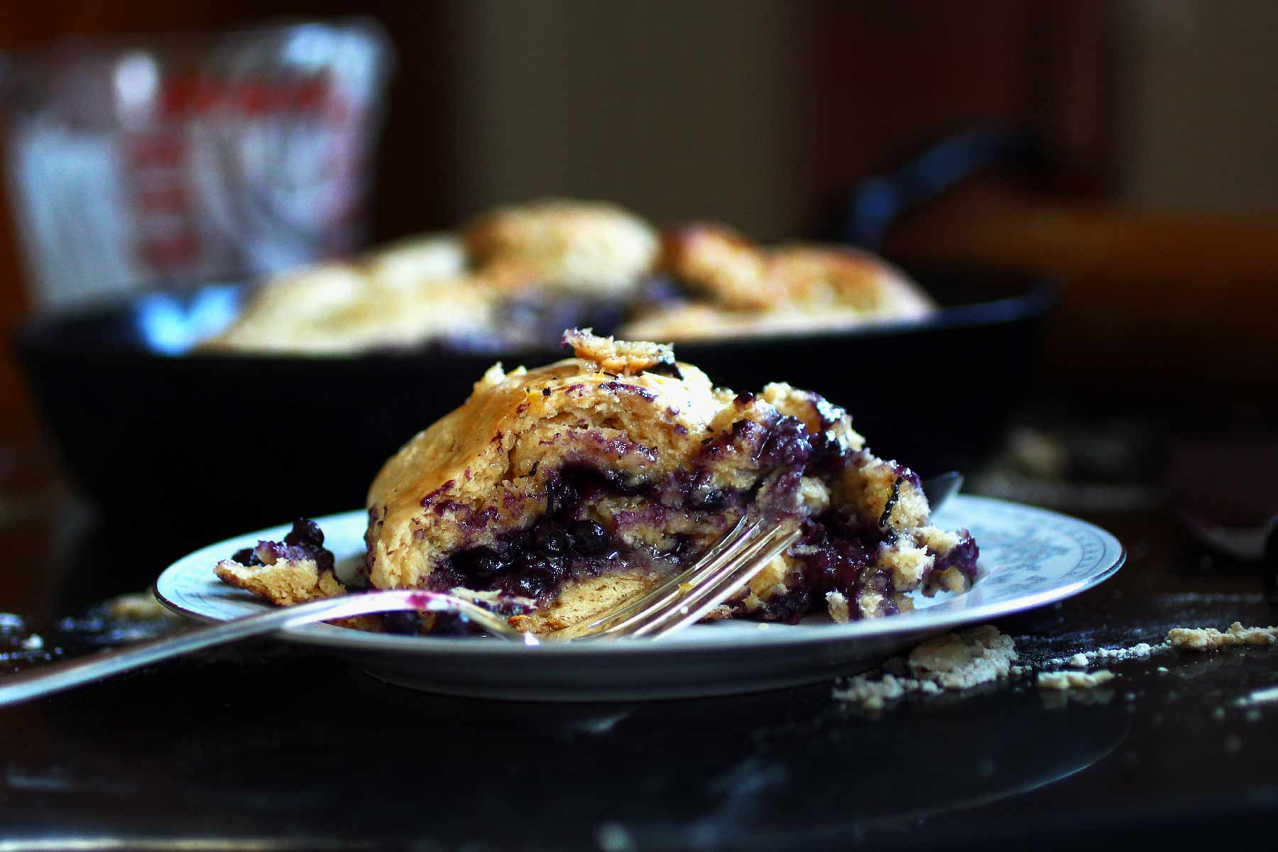 blueberry biscuit heart