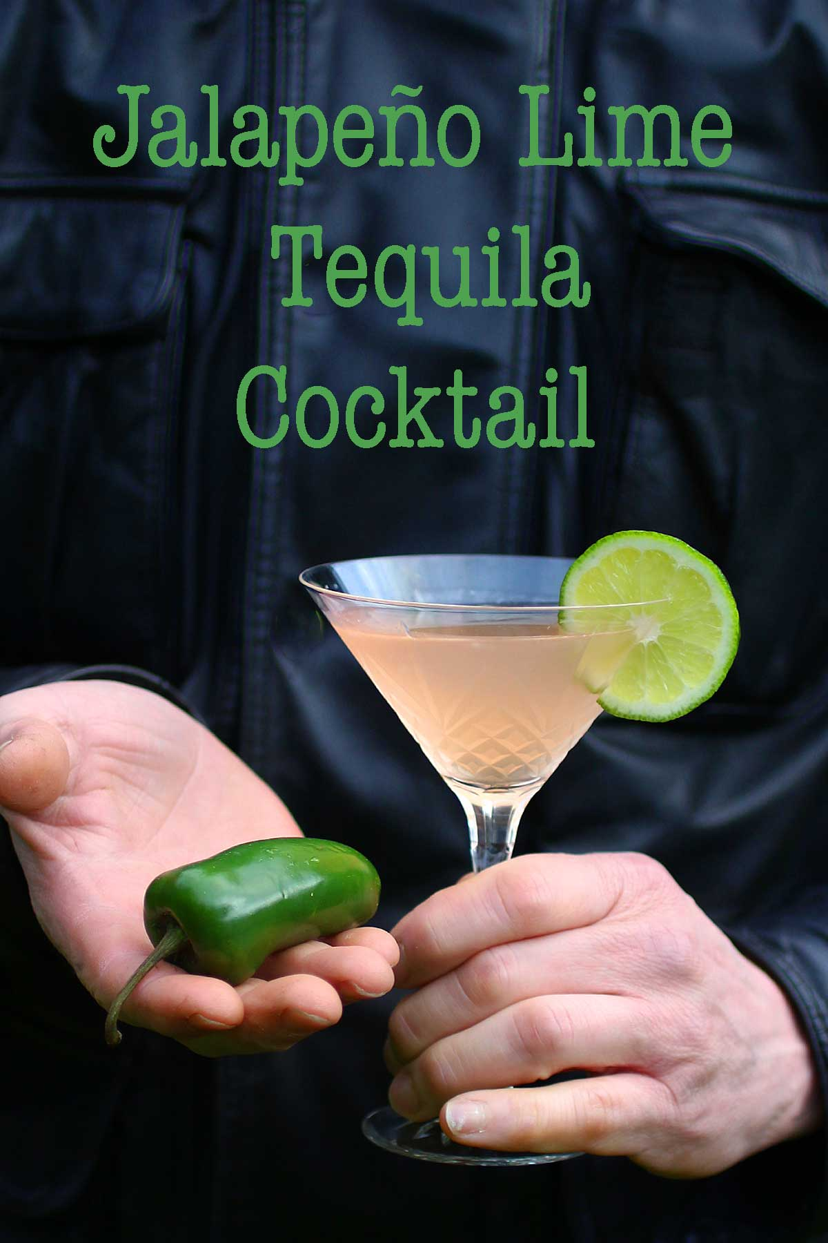 Jalapeño Lime Simple Syrup makes a simply spicy and delicious tequila cocktail