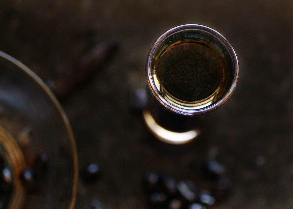 coffee vanilla infused vodka