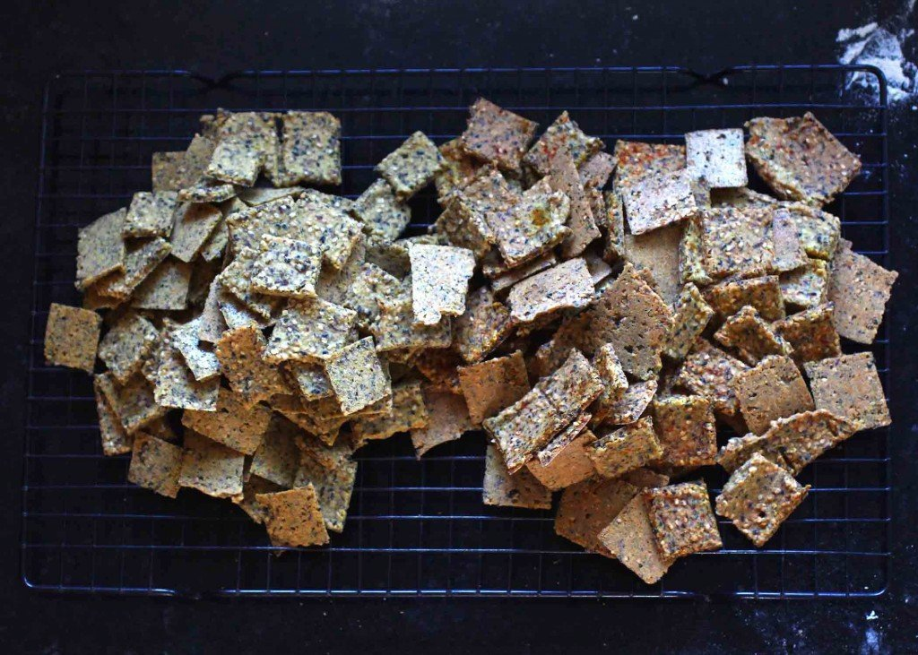 Wally's Sesame Crackers- vegan and gluten free