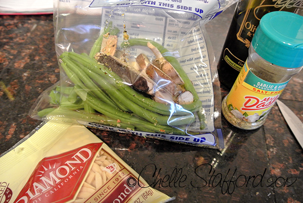 Recipe Steamed Green Beans And Mushrooms