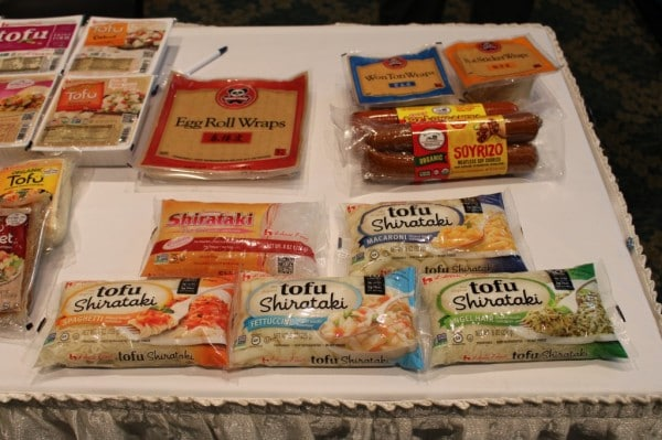 Sample Vendor Table Packages