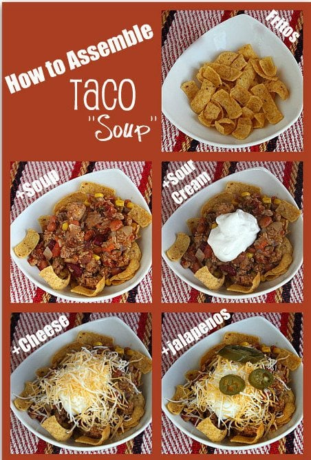 How to Make Easy Taco Soup