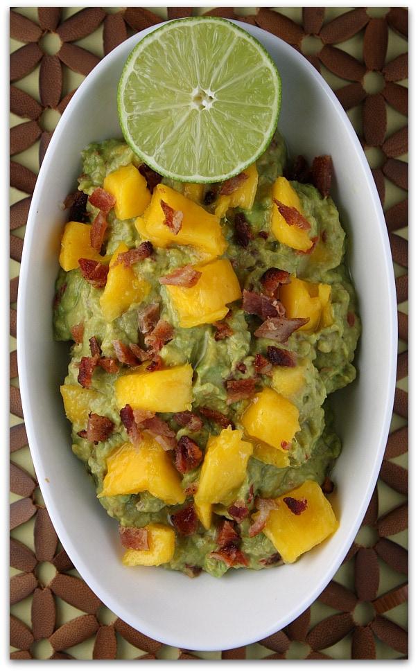 Sweet and Smoky Mango Guacamole