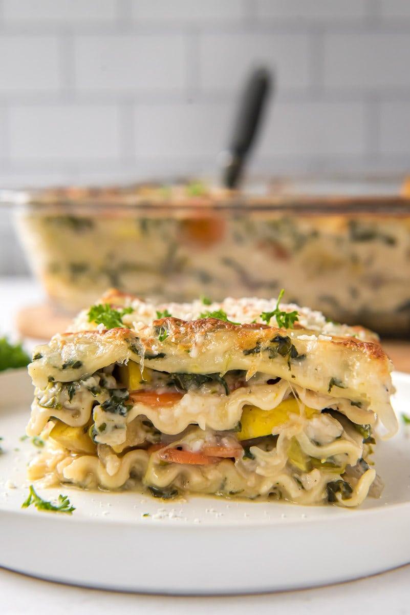 Garden Vegetable Lasagna Recipe Girl