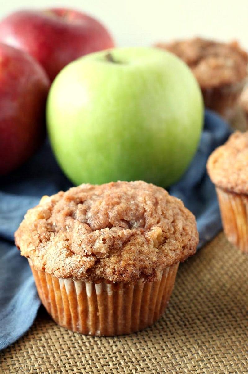 Easy Apple Cinnamon Muffins Recipe Girl