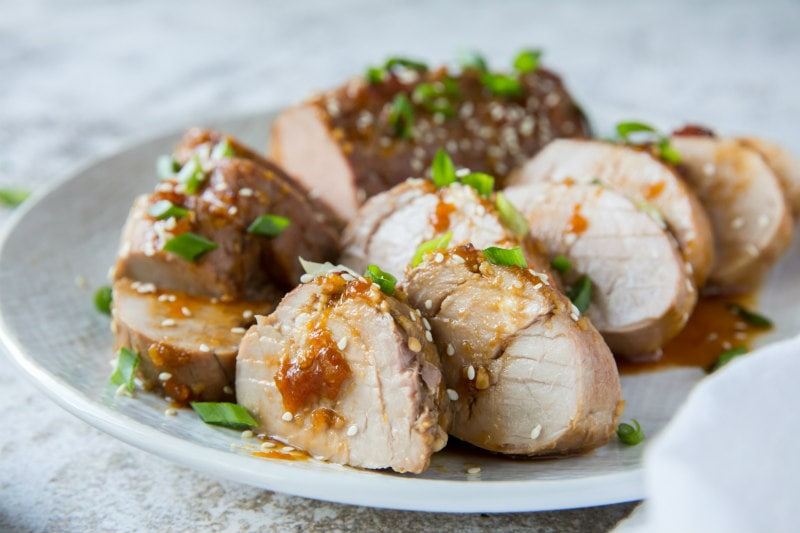 ginger glazed pork tenderloin