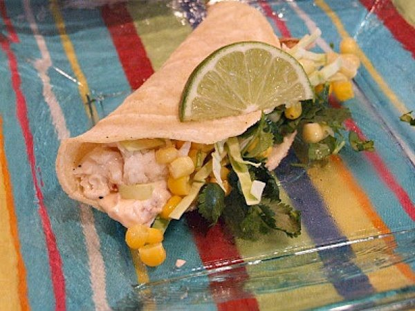 Fish Tacos with Chipotle Cream recipe by RecipeGirl.com