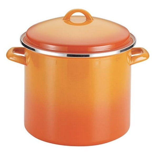 Orange Soup Pot