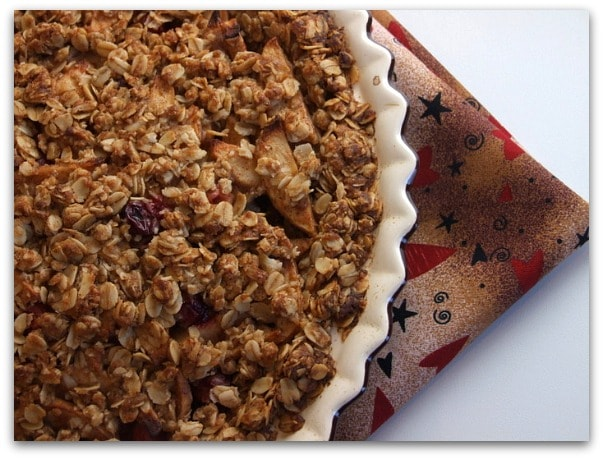 Traditional Thanksgiving Dinner Menu: the pie
