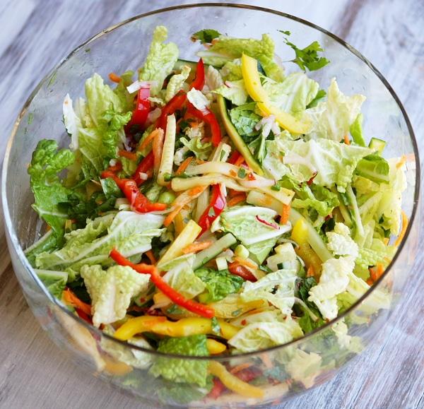 Thai Summer Salad Recipe Girl