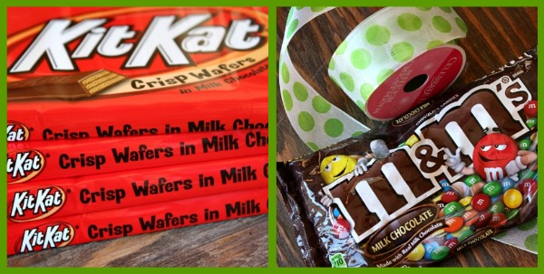 Kit Kats and M&M's