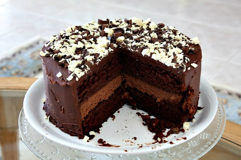 Groovy Chocolate Cheesecake Cake Recipe Girl Personalised Birthday Cards Petedlily Jamesorg