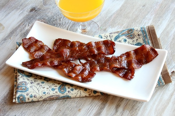Candied Bacon ready to serve