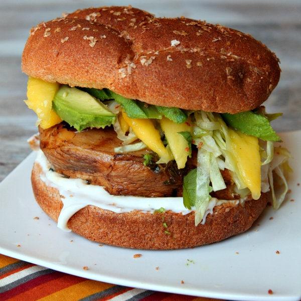 Easy Mango Slaw recipe by RecipeGirl.com