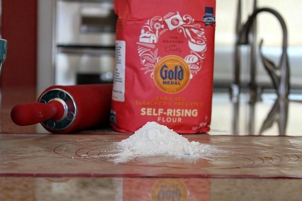 Self Rising Flour for Pizza Pinwheels