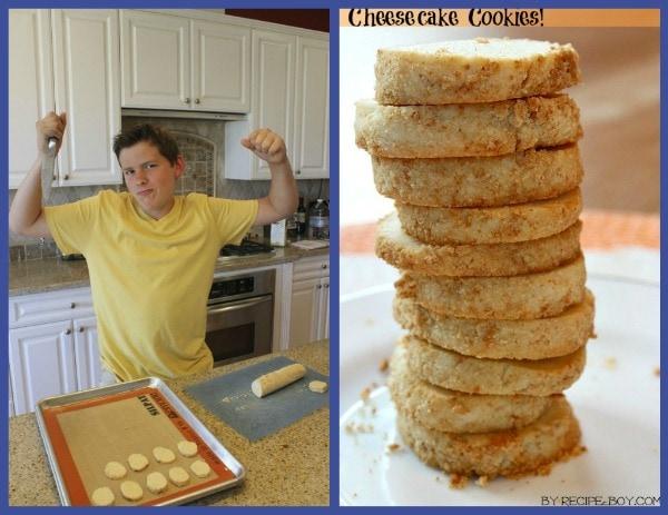 Cheesecake Cookies RecipeBoy