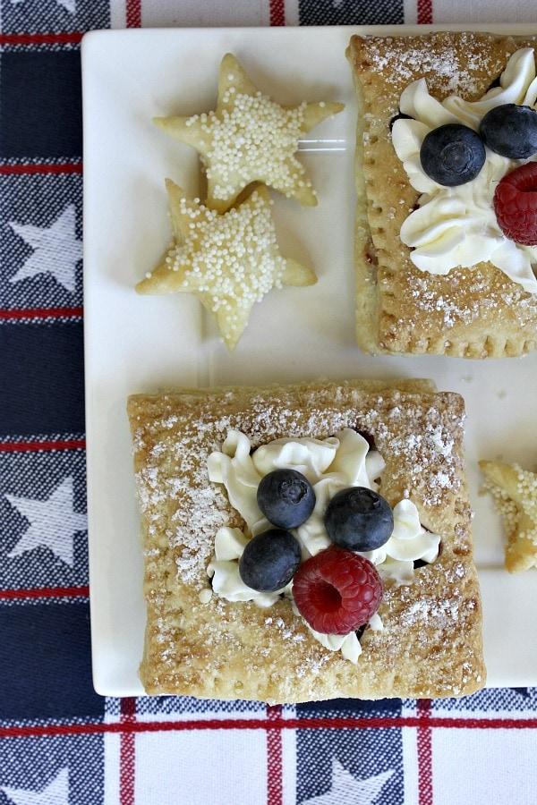 Patriotic Pastries - RecipeGirl.com