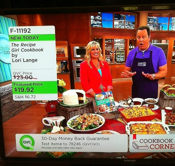 QVC Appearance May 2013