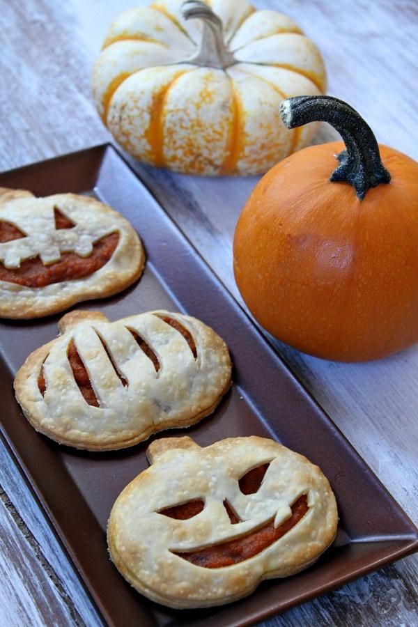 Pumpkin Pie Pop Tarts - RecipeGirl.com