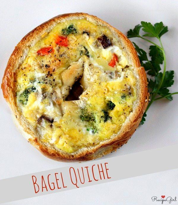 Bagel Quiche