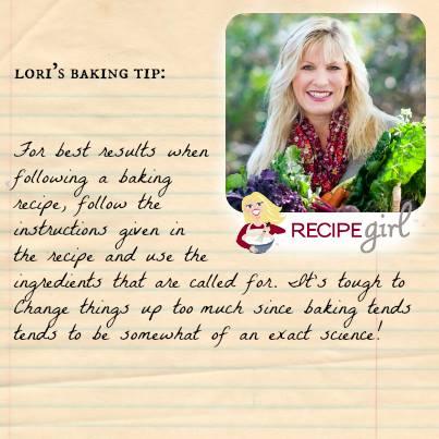 Baking Tip