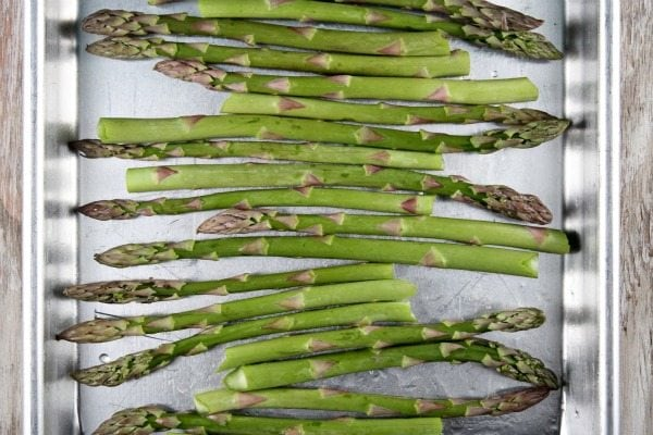 Citrus Roasted Asparagus recipe from RecipeGirl.com