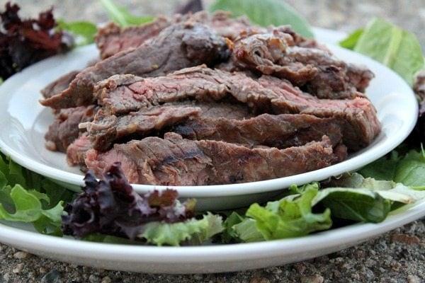Marinated, Grilled Skirt Steak