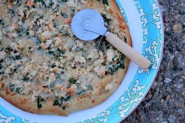 White Clam Pizza #recipe