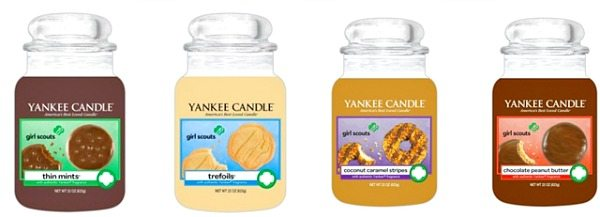 Girl Scout Cookies Yankee Candles