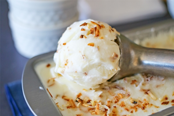 Coconut Frozen Yogurt