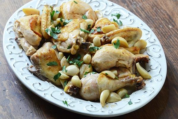 Chicken with 40 Cloves of Garlic 1