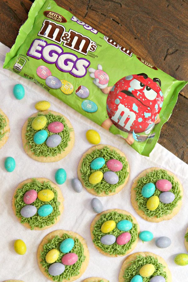 Easter Grass Sugar Cookies Recipe