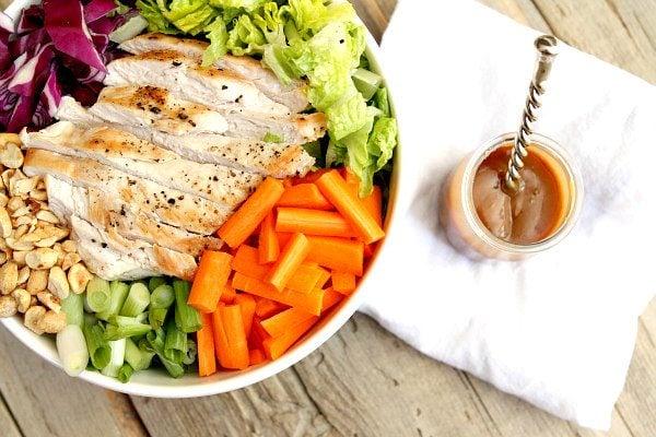 Asian Chicken Salad Recipe - RecipeGirl.com