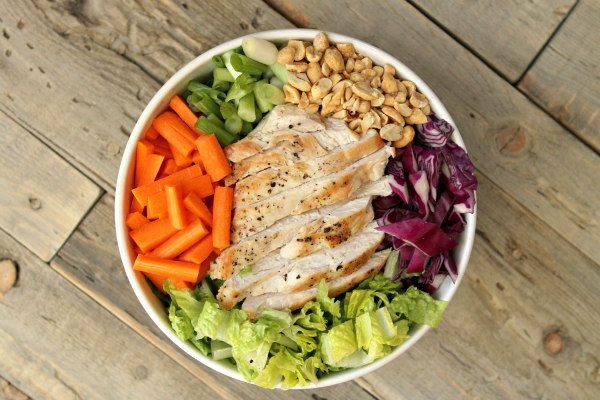 Asian Chicken Salad recipe by RecipeGirl.com