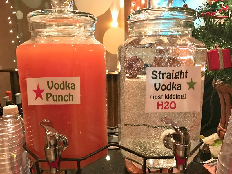 Vodka Party Punch on display