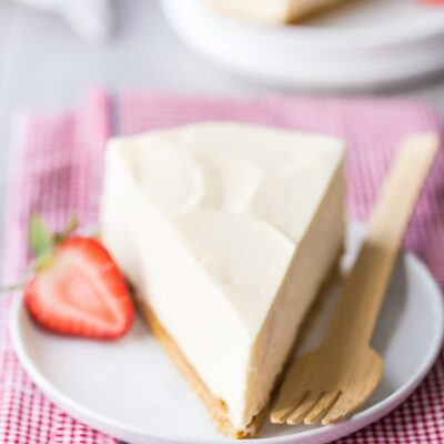 No-Bake Cheesecake by @bakingamoment