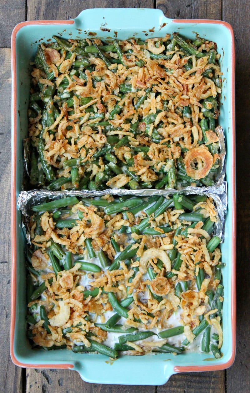 Green Bean Casserole Two Ways Recipe Girl