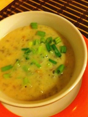 Potato Soup: original