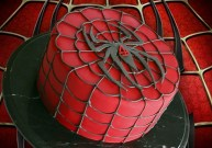 spiderman caker
