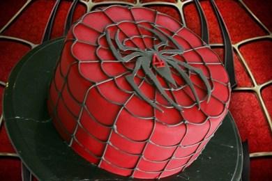 spiderman caker